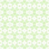Seamless floral and hearts pattern — Stock Vector