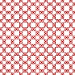 Seamless dots and checkered pattern - Image vectorielle