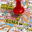 Roma map - Stock Photo
