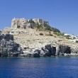 Lindos acropolis — Stock Photo #6177396