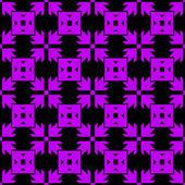 Sömlös pil mönster — Stockvektor