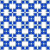 Seamless arrow pattern — Vecteur
