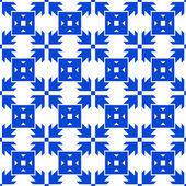 シームレスな矢印パターン — ストックベクタ