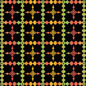 Colorful seamless pattern — Stok Vektör