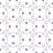Seanless květinový vzor — Stock vektor