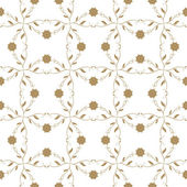 Seanless floral pattern — Vecteur