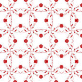 Seanless floral pattern — Vector de stock