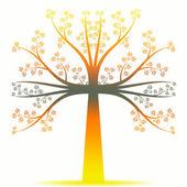 Art tree — Stockvector
