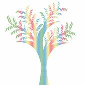 árvore de arte — Vetorial Stock