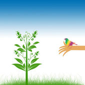 Environmental concept — Stock Vector