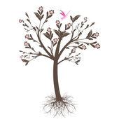 Art tree — Stock Vector