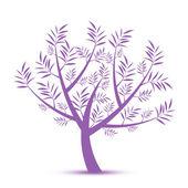 художественное дерево — Cтоковый вектор