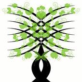 芸術の木 — ストックベクタ