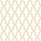 Seamless polka dots pattern — Stock Vector
