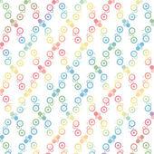 Nahtlose polka dots muster — Stockvektor