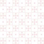 Naadloze geruit patroon — Stockvector