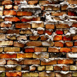 Detail of Old Brick Wall — Stock Photo