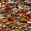 Detail of Old Brick Wall - Stock Photo