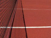 Tennis net — Stockfoto
