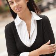 Fashionable Hispanic woman — Stock Photo