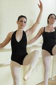 Ballerinas in a dance studio — Stock Photo