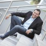Young Latino businessman — Stock Photo #6037208