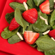 Stock Photo: Strawberry Spinach Salad
