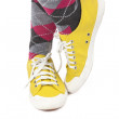 Flashy Yellow Sneakers - Stockfoto