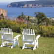 Gaspe View - Stock Photo