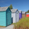 Garden Sheds — Stock Photo