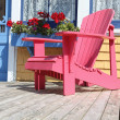 Adirondack Deck Chair — Stock Photo