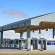 Stock Photo: Toll Booths