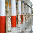 Stock Photo: Statues, Achillion Palace