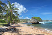 Bathsheba Beach, Barbados — Stock Photo