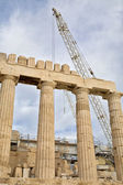 Parthenon Restoration — Stock Photo
