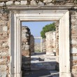 St. Johns Basilica Ruins, Ephesus, Turkey - Stock Photo
