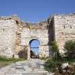 Gate of Persecution, Ephesus,Turkey - Stock Photo