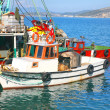 Turkish Fishing Boats - Zdjcie stockowe