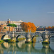 Sant'Angelo's Bridge Rome, Italy — Stock Photo #5866993