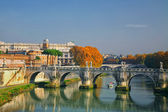 Sant'Angelo's Bridge Rome, Italy — Stock Photo