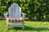 Adirondack stoel — Stockfoto