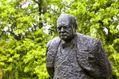 Winston Churchill Public Art — Stock Photo