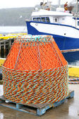 Newfoundland Crab Traps — Stock Photo