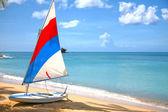 Antigua Sailboat — Stock Photo