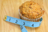 Healthy Muffin — Stock Photo