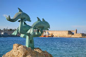 Harbour of Rhodes — Stock Photo