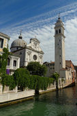 Greek Orthodox Cathedral of St. George in Venice, Italy — Stock Photo