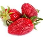 tres fresas — Foto de Stock   #5589544