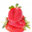 Strawberry isolated on white background — Stock Photo