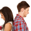 Relationship difficulties — Stockfoto